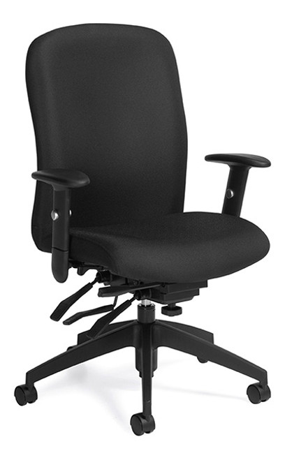 Global Truform Upholstered High Back Multi Tilter