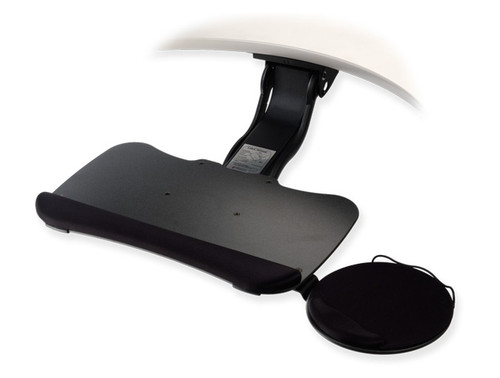 Tilt-A-Wheel Cobra™ Articulating Arm and SlimForm™ 19 Keyboard Tray