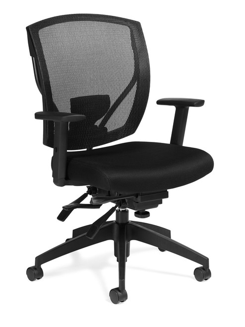 Offices to Go Mesh Ergonomic Synchro-Tilter