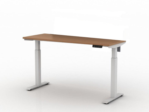 "AMQ Activ-PRO-2 Sit-Stand Table Desk 2 Stage Legs 22"" Feet"