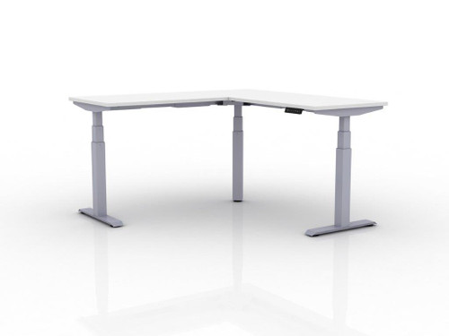 AMQ Activ-PRO 3 Sit-Stand Electric Table Desk, 3 stage legs