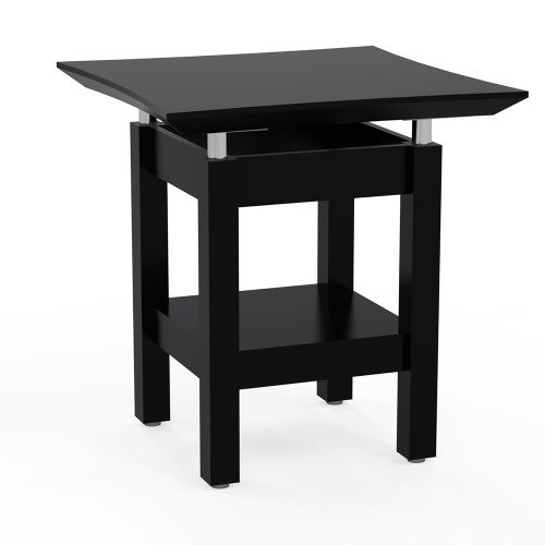 Sterling Rectangular End Table Textured Mocha