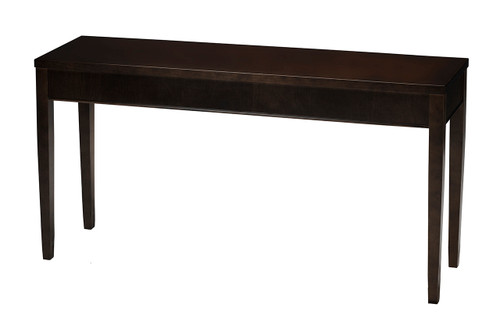 Sorrento Rectangular Sofa Table Espresso
