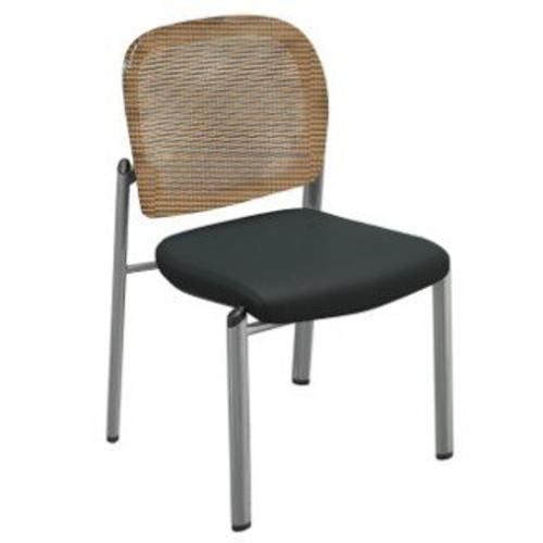 Valore Bistro Chair with orange mesh
