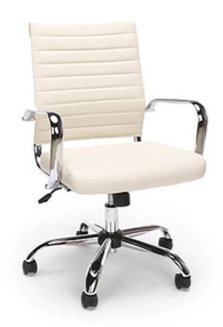 Mid Back Conference Work Chair, Ivory