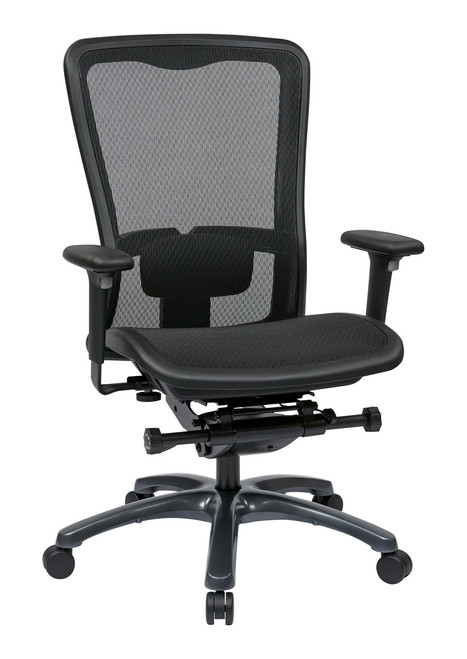 Pro Grid Mesh Seat and Back Manager Chair
