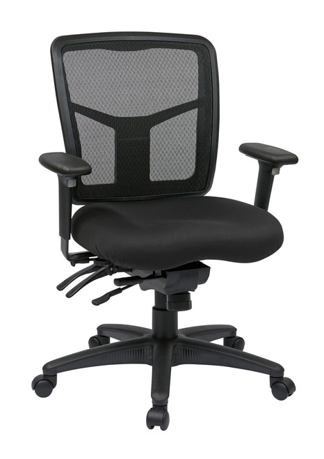 Pro Grid Mid Back Manager Chair