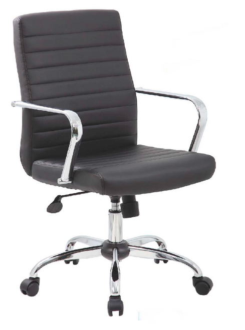 Leatherette Conference Chair