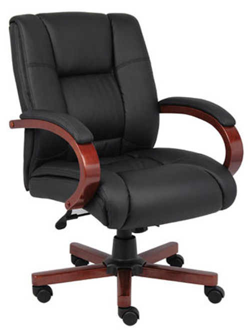 Executive Mid Back Tilter in Cherry