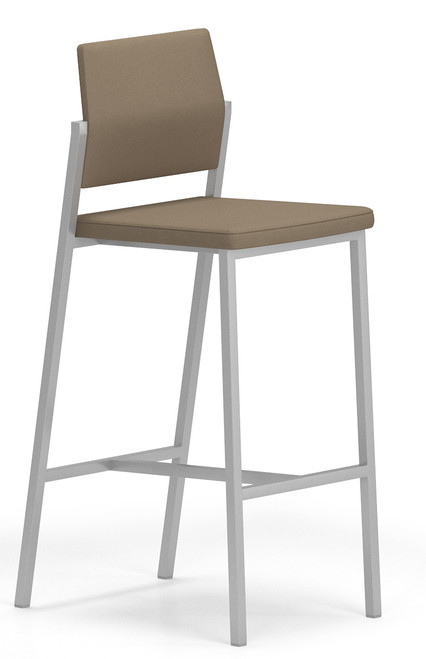 Avon Fully Upholstered Guest/Reception Stool