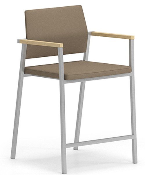 Avon Fully Upholstered Guest Hip Chair for Medical Reception