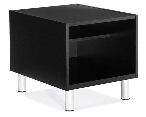 Citi End Table With Black Laminate Top