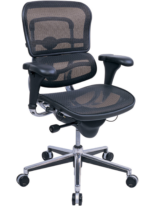 EuroTech Ergohuman All Mesh Executive in Black Mesh