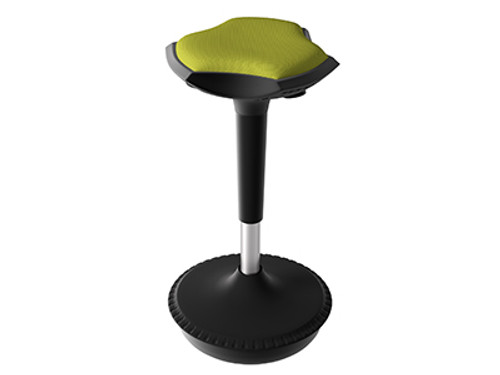 Compel Pogo Active Stool,Green Flexi fabric ships in 6-10 days!