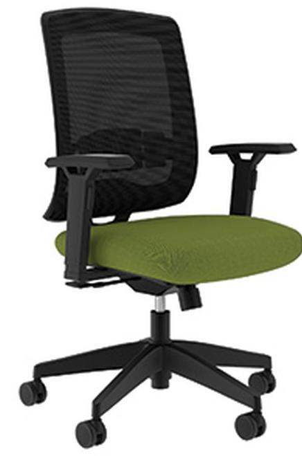 Compel Kudos Synchro-tilt Tasker, Green Flexi fabric