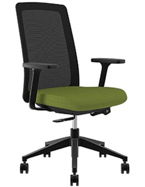 Compel Bravo Synchro-tilt Tasker, Green Flexi fabric