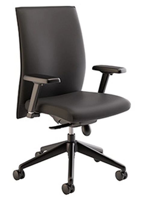 Compel  Maxim Leather Synchro-tilt Executive