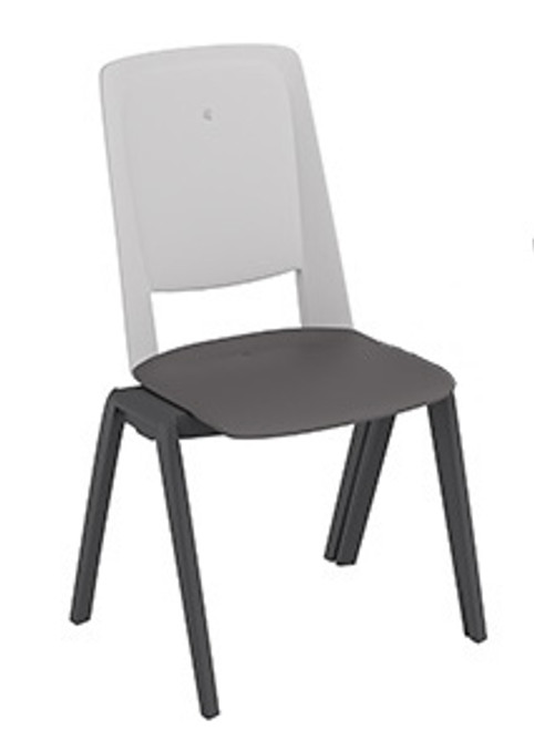 Compel Fila Stacker, standard grey/white frame without seat pad