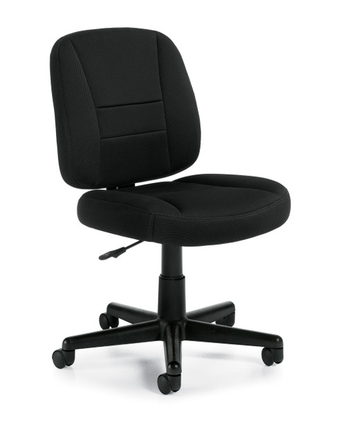 Armless Air Mesh Task Chair