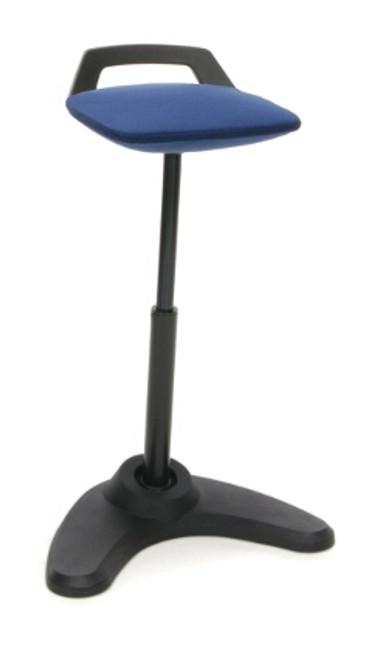 2800 Vivo Height Adjustable Perch Stool, blue