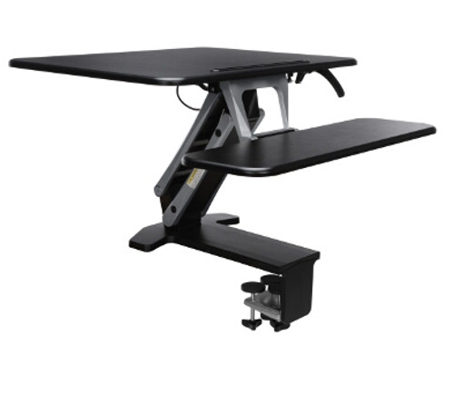 5200M Height Adjustable Sit-to-Stand Medium Workstation, black