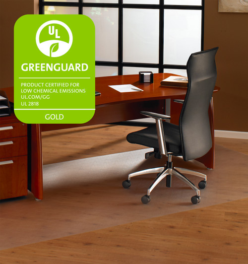 FloorTex XXL ClearTex Ultimat Chairmat for Hard Floors