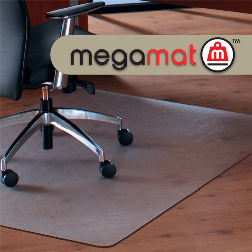 FloorTex ClearTex Big & Tall Megamat for Hard Floors & All Pile Carpet
