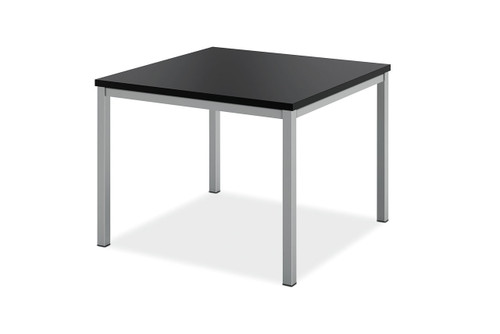 Hon Modern Corner Table, black laminate top (P)