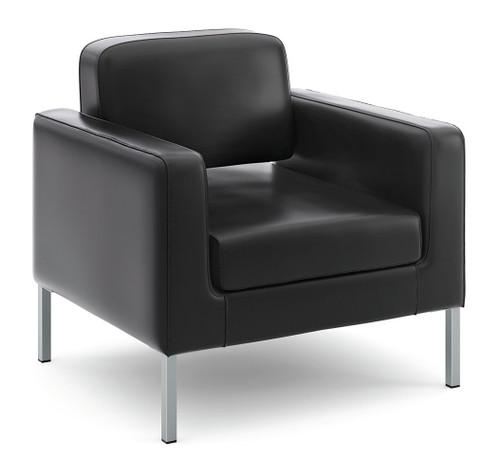 Leather Modern Club Chair