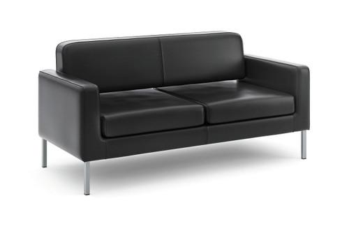 Leather Club Sofa