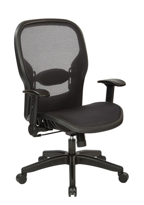 Dark Air Grid® Manager's Chair