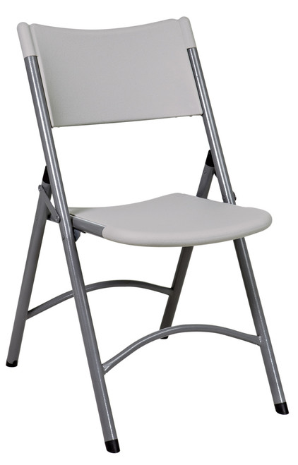 Resin Folding Chair, grey