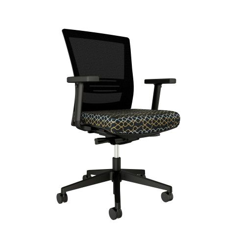 Shown w/ optional arm pack & Guilford Portofino Ebony seat