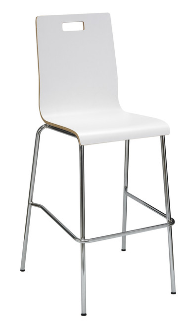 Jive Bar Height Stool White