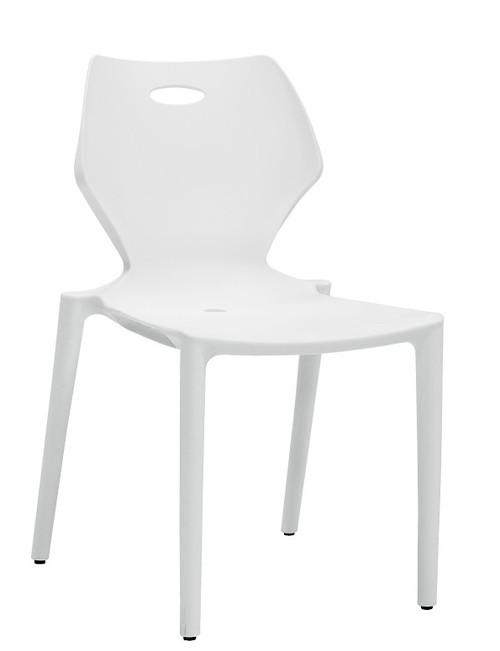 Kradl Stack Chair white