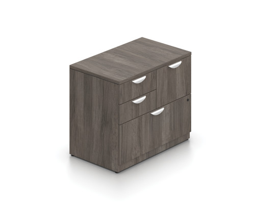 Mixed Storage Unit in Artisan Grey