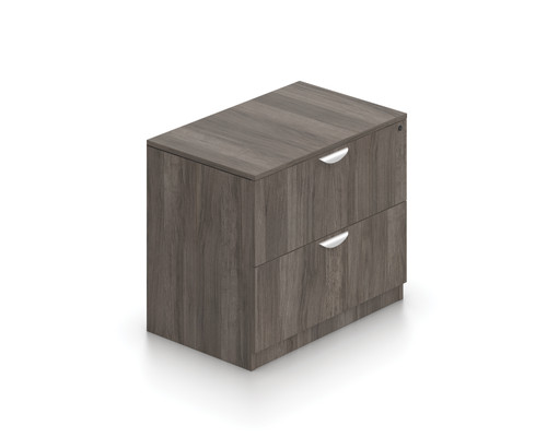 OTG Superior Laminate 2 Drawer Lateral File Cabinet in Artisan Grey