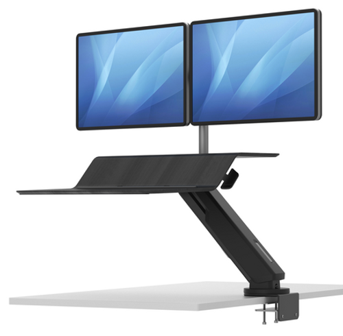 Lotus RT2 Twin Monitor Desk Top Sit to Stand