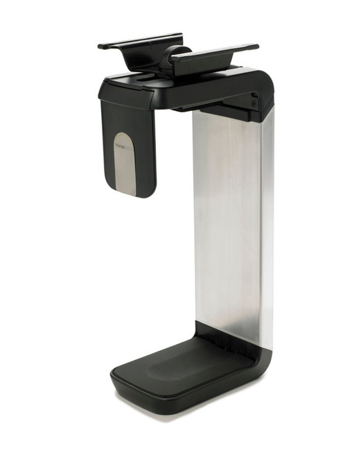 Humanscale CPU Holder (CPU600) with Black/ Brushed Aluminum