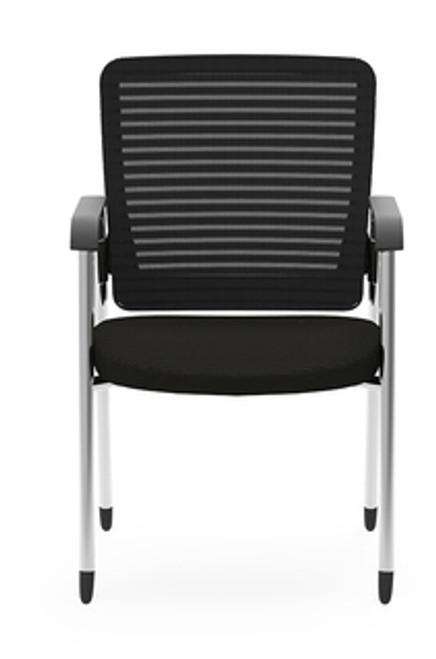 Eon Guest Arm Chair, black