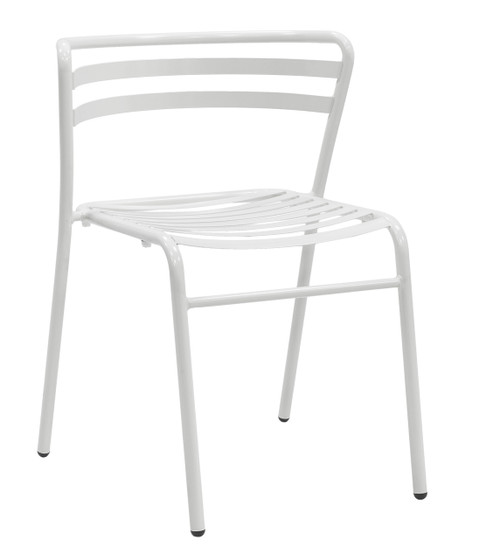 Reklin Stack Chair, white