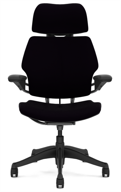 Humanscale Freedom Quick Ship Executive Task Chair Corde4 Black