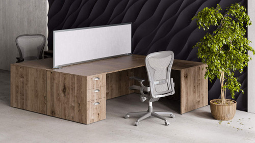 OBEX Freestanding Desk Acoustical Privacy Panels