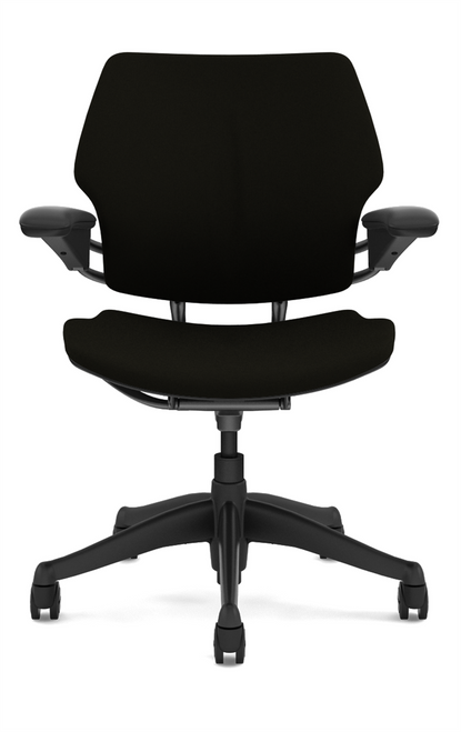 Humanscale Freedom Quick Ship Task Chair in Black Corde4