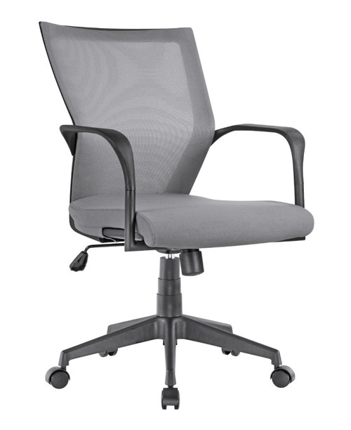 Motivate Mid Back Conference Task Fog Grey