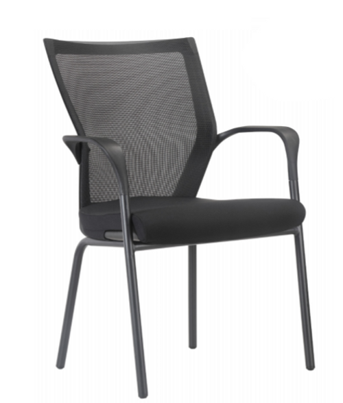 Motivate Mesh Back Guest Chair Black 2 Pack