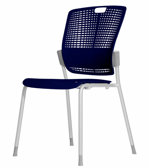 Humanscale Cinto Ergonomic Stack Chair in Blue (53)