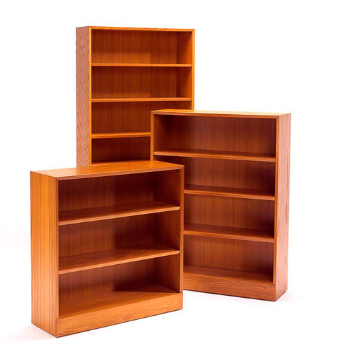 Hale 1100NY Series Standard Depth Bookcase, choice of 1-6 shelf models
