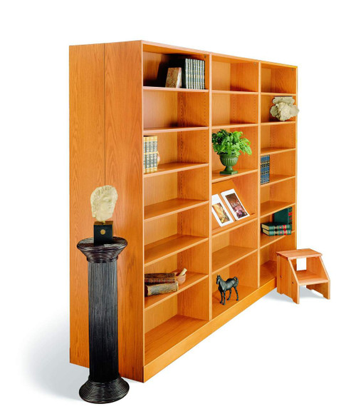 Hale 1100NY Series Deep Storage Bookcase, 6 adjustable shelves