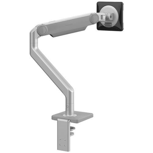 M2.1 Monitor Arm, silver with grey trim